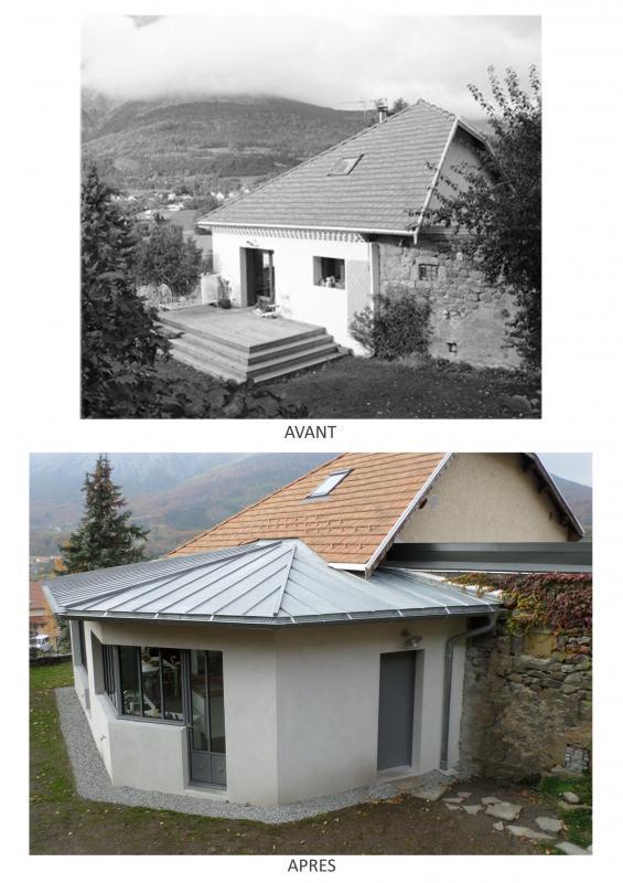 extension et r novation logement priv saint bonnet en champsaur 05. Black Bedroom Furniture Sets. Home Design Ideas